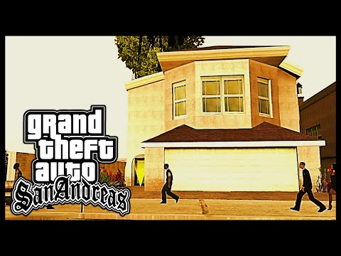 GTA: San Andreas - Side Mission: Buying All Safehouses [HD]