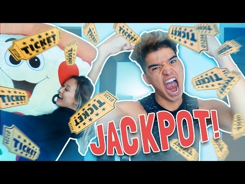 WINNING ARCADE GAME JACKPOT!!