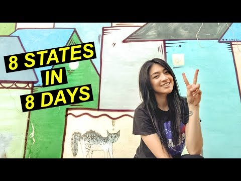 ROAD TRIP! 8 States in 8 Days Itinerary | Hobo Ahle