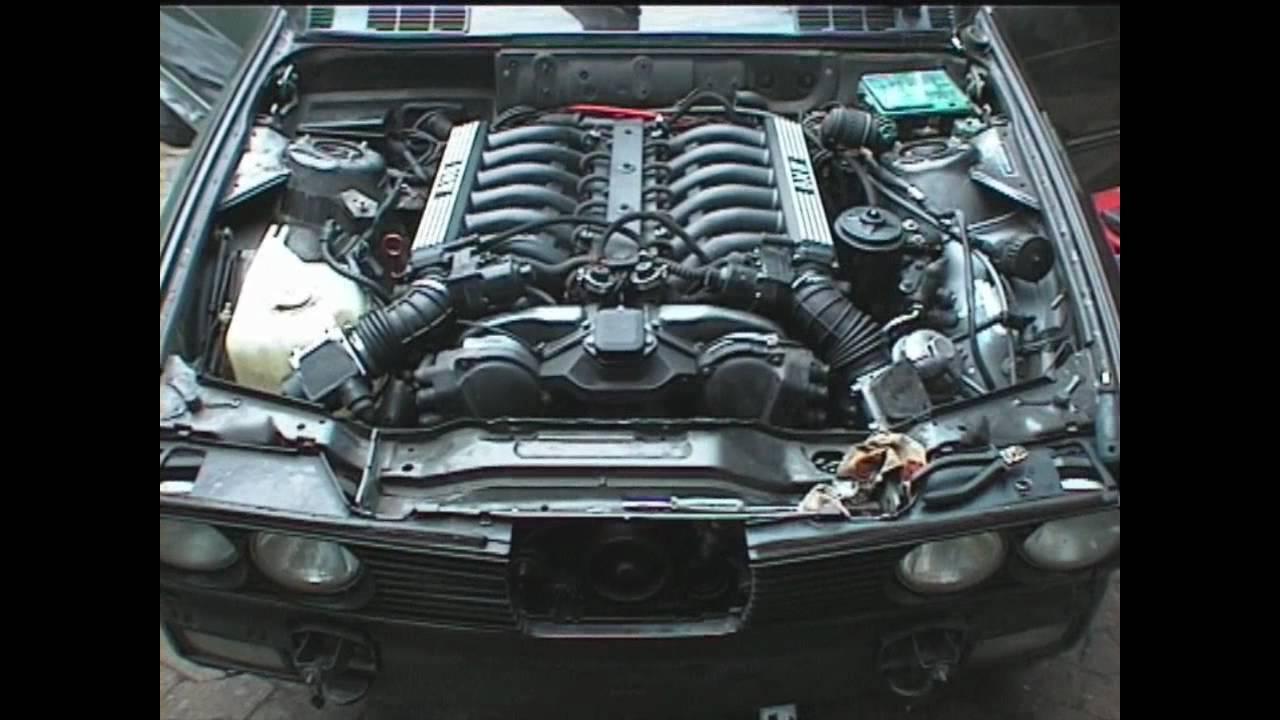 Bmw 350i Cabrio V12 Erster Lauf Youtube