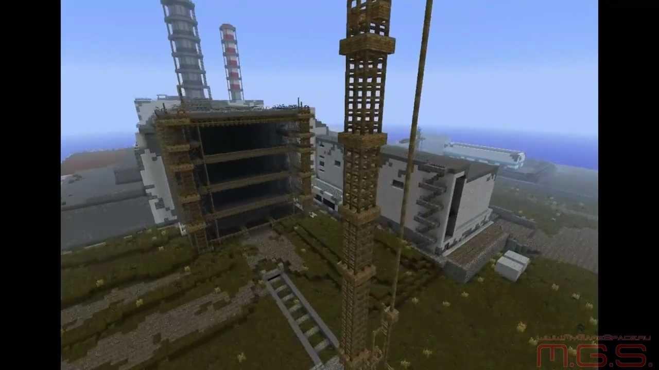 Скачать карту Чернобыль для Майкнрафт бесплатно - Карты ...