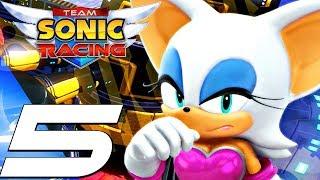 Team Sonic Racing - Gameplay Walkthrough Part 5 - Chapter 5 (Full Game) Story Mode