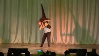 Танец Человек и кошка  исп  Марина Шаханова и Артём Петров