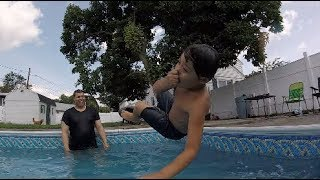 Insane Slow Motion Pool Party | Gopro