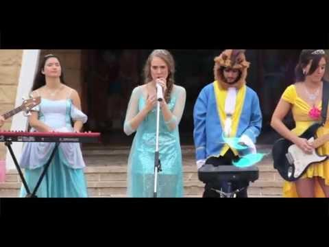 Frozen Let It Go Cover Princess Popstars - Libre Soy peliculas completas en español
