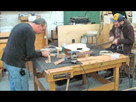 Woodcraft Woburn, MA-Acoustic Guitar Making Class-Jan/Feb 2011