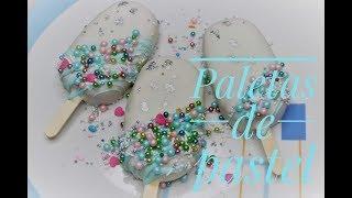 Cómo hacer #cakesicles o paletas de pastel!!!! Receta sin horno!