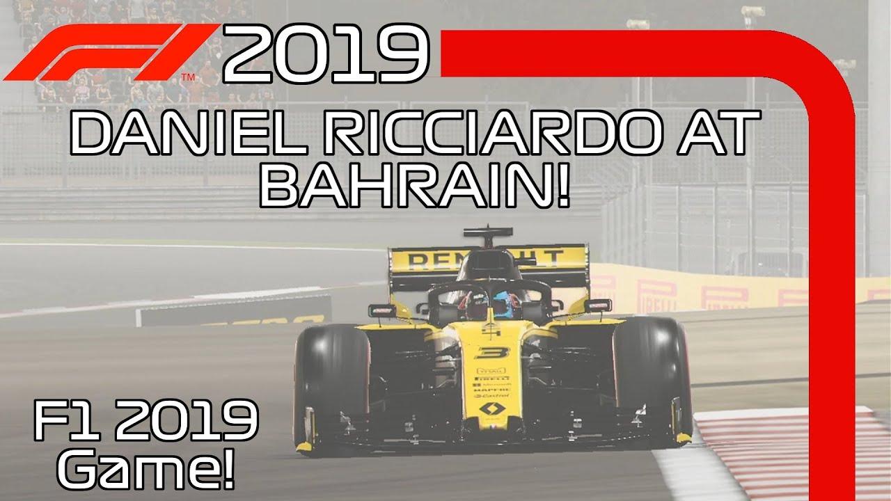 F1 2019 GAME FOOTAGE! Daniel Ricciardo At Bahrain Onboard +