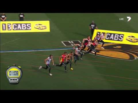 2014 AFL Grand Final Sprint