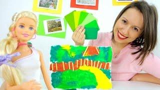 Картины известных Художников. Левитан в мастерской Барби