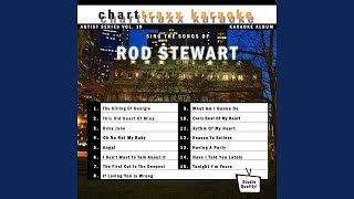 I Don't Wanna Talk About It (Karaoke Version in the style of Rod Stewart)