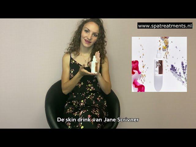 Lisanne geeft uitleg over de Skin Drink