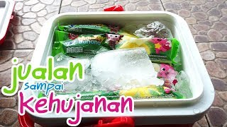 What If Jessica Jenica Jadi Penjual Es Krim 💖 Paddle Pop Pinkfong Monkey Banana!!! Ice Cream