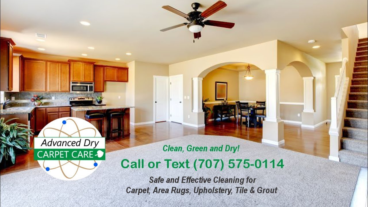 Dry And Low Moisture Carpet Cleaning In The North Bay Area, Petaluma, CA