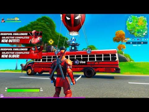 FINDING *NEW* DEADPOOL BATTLE BUS!