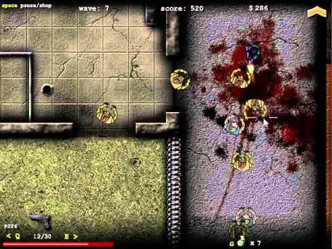 Juego Flash Zombie Assault 2