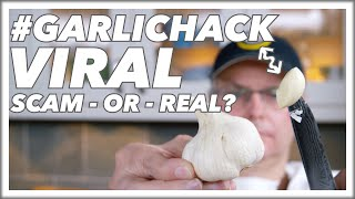 How To Do The #GarlicHack Garlic Peeling Trick Secret Revealed || Glen & Friends Cooking