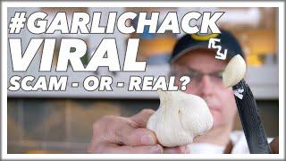 How To Do The #GarlicHack Garlic Peeling Trick Secret Revealed