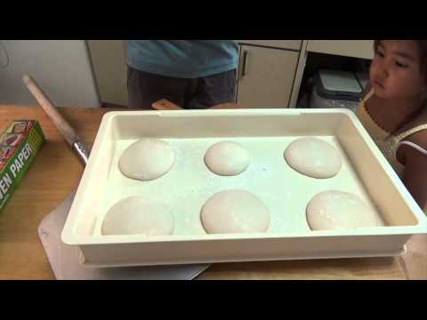 Pizza Dough Recipe for Your Home Oven Part II:  Baking Day