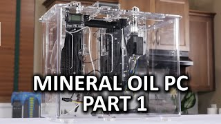 Mineral Oil Submerged PC Build Log Part 1 - Puget Systems Kit Case Assembly