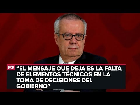 Rodrigo Pérez-Alonso Habla De La Renuncia De Carlos Urzúa