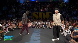 Joseph Go vs Batalla SEMI FINAL Hiphop Forever - Summer Dance Forever 2019