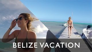 Amazing Belize Vacation Video San Pedro