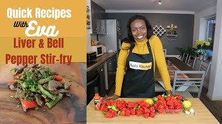Liver & Bell Pepper Recipe|Quick & Easy | Delicious