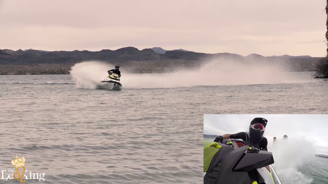 Stock 2017 Seadoo RXP-X 300 Race Sponsons Test On Closed Course, Lake  Havasu City