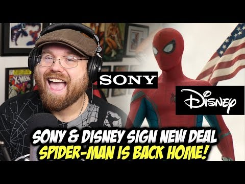 Sony & Disney Agree to New Deal - Spider-Man is Back Home?!!!
