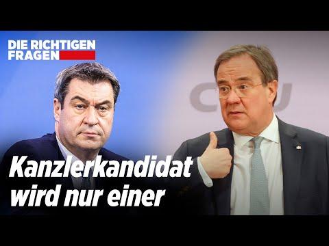 Wird Söder Kanzlerkandidat der CDU/CSU?