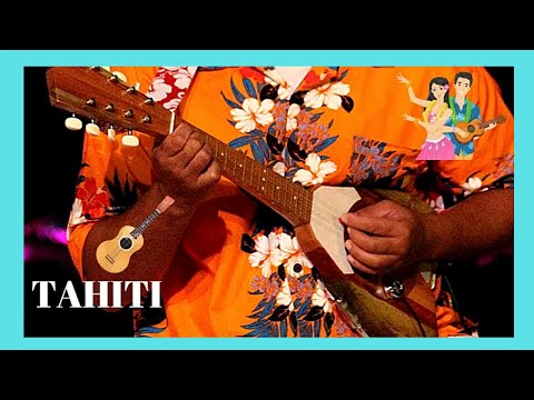 TAHITI, listening to the ukulele and to Polynesian songs in the streets of Pape'ete