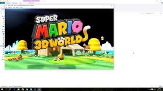 Cemu 1 4 2 Super Mario 3d World тест новой версии