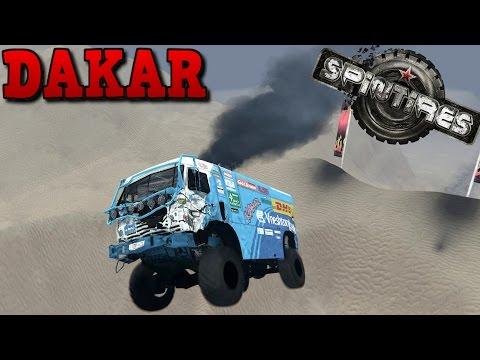 SpinTires | Dakar | Map Mod | Kamaz 49252 Dakar