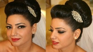 How to: Style a Bridal Bun Fast and Easy