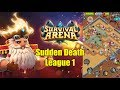 Survival Arena Sudden Death Arena Strategy League 1