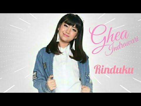 Ghea Indrawari - Rinduku ( Lyric )