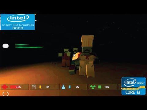 Unturned on intel hd 3000   intel core i3   VRAM 64mb   gameplay laptop  