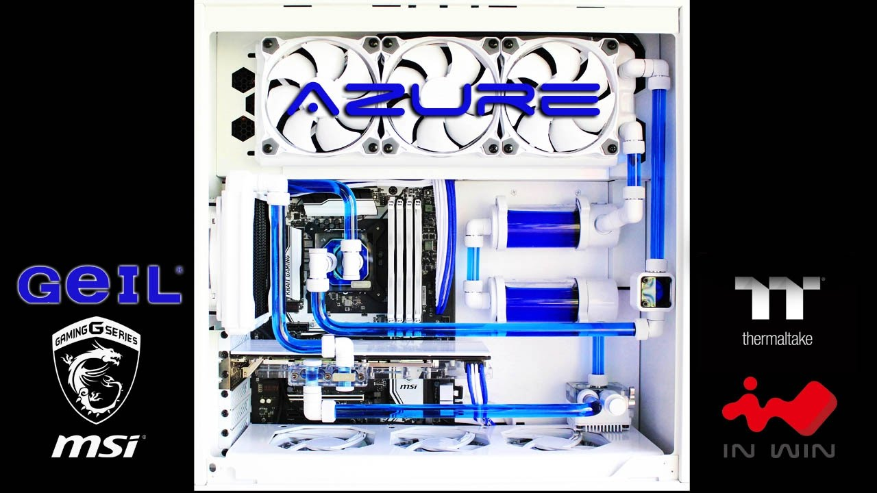 Custom Pc Build 23 Quot Azure Quot Declassified Systems How To