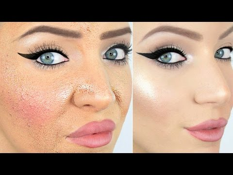 How to wear foundation without looking cakey