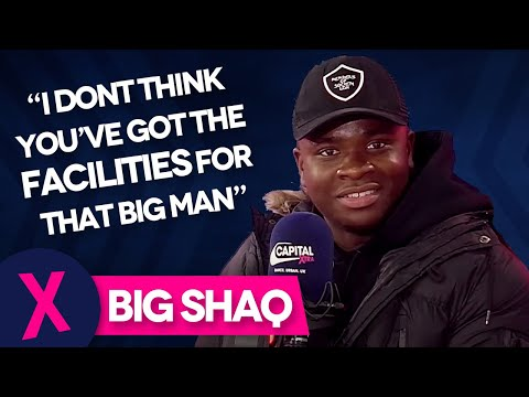 Big Shaq Responds To Your Comments On His 'Man's Not Hot' Video