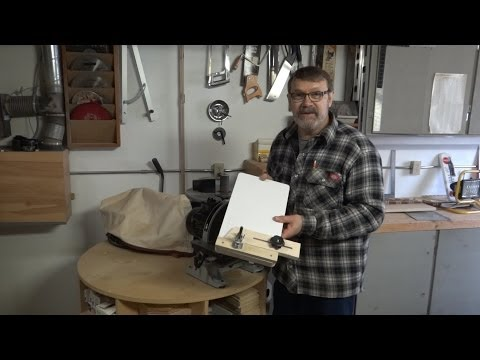 Sanding Jig For Segmented Woodturning   Part 2