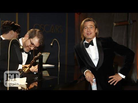Brad Pitt, Renee Zellweger Celebrate Oscar Wins At Governor's Ball
