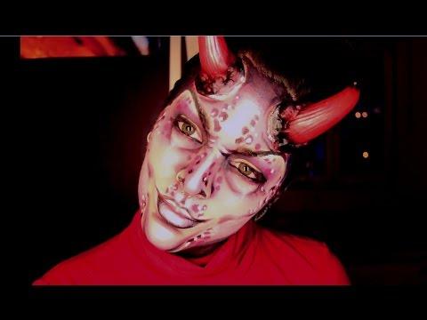 maquillaje de diablesa devil makeup tutorial