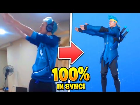 Fortnite Dances in REAL LIFE and 100% IN SYNC! (ALL DANCES)