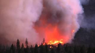 Bald and Eiler Fires - Fire Behavior