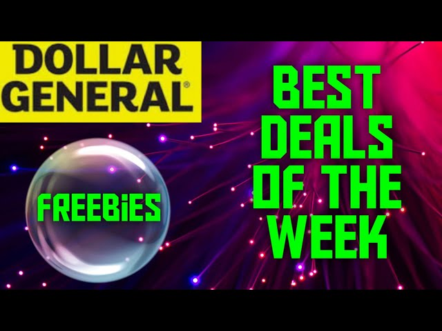 Dollar General Best Deals of the Week February 23rd - 29th 2020