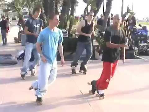 Rollerskating at Mission Beach