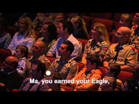 Ma You Earned Your Eagle!