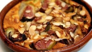 Fig And Almond Clafoutis Recipe - Cookingwithalia - Episode 276